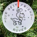 Personalized Dog Ornament - Strutting
