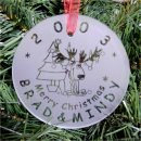 Deer Ornament Personalized